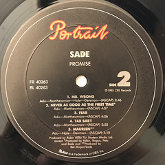 SADE:PROMISE(LABEL SIDE-B)