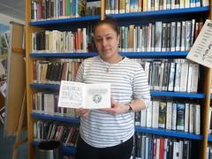 Ganadora del comic dedicado del mes de febrero en la biblioteca.