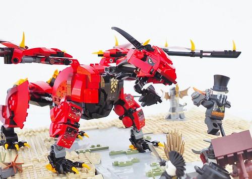 Set Expansion: Ninjago Dragons