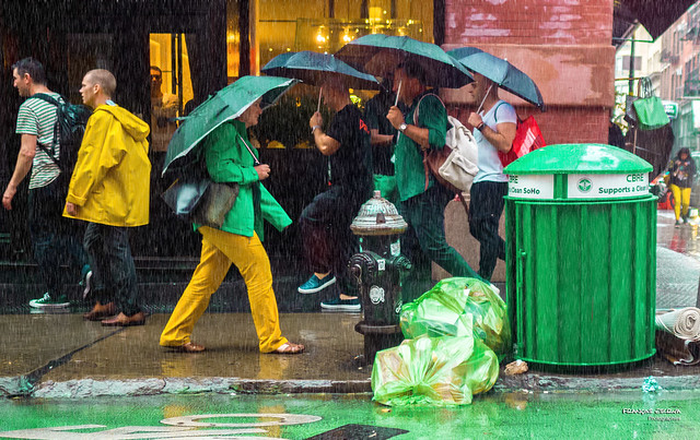 The New Yorkers - Colorful rainy day