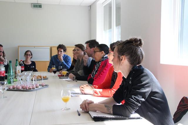 Semaine des langues vivantes 2019: déplacement du recteur Dugrip au collège Claude-Massé à Ambarès-et-Lagrave