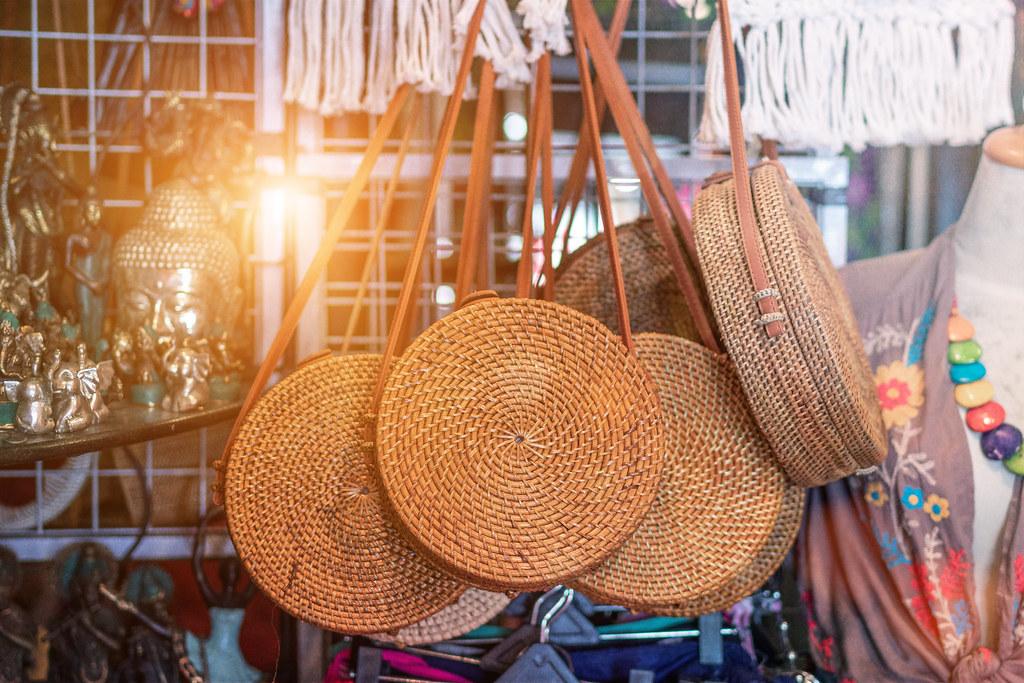 Handicraft shop at Bali