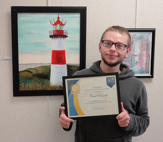Fri, 05/03/2019 - 14:39 - Albion Campus Center Student of the Semester, Carl Roach III