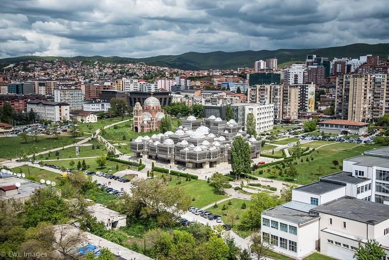 Kosovo National Library - Pristina