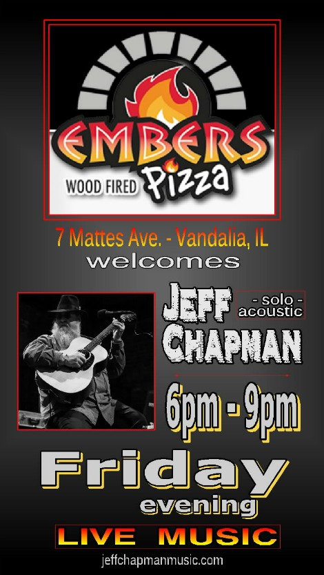 Jeff Chapman Fridays