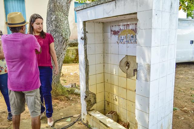 Entrega da unidade móvel odontológica no Sítio Serra Velha