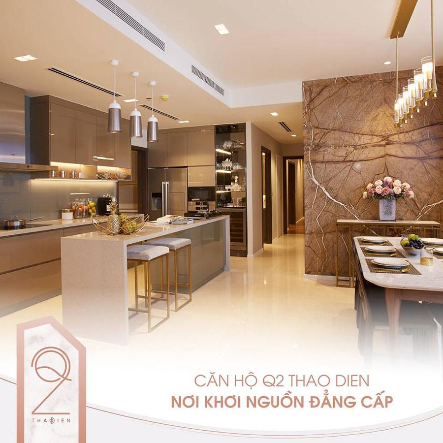 Thiết kế căn hộ mẫu Q2 Thảo Điền