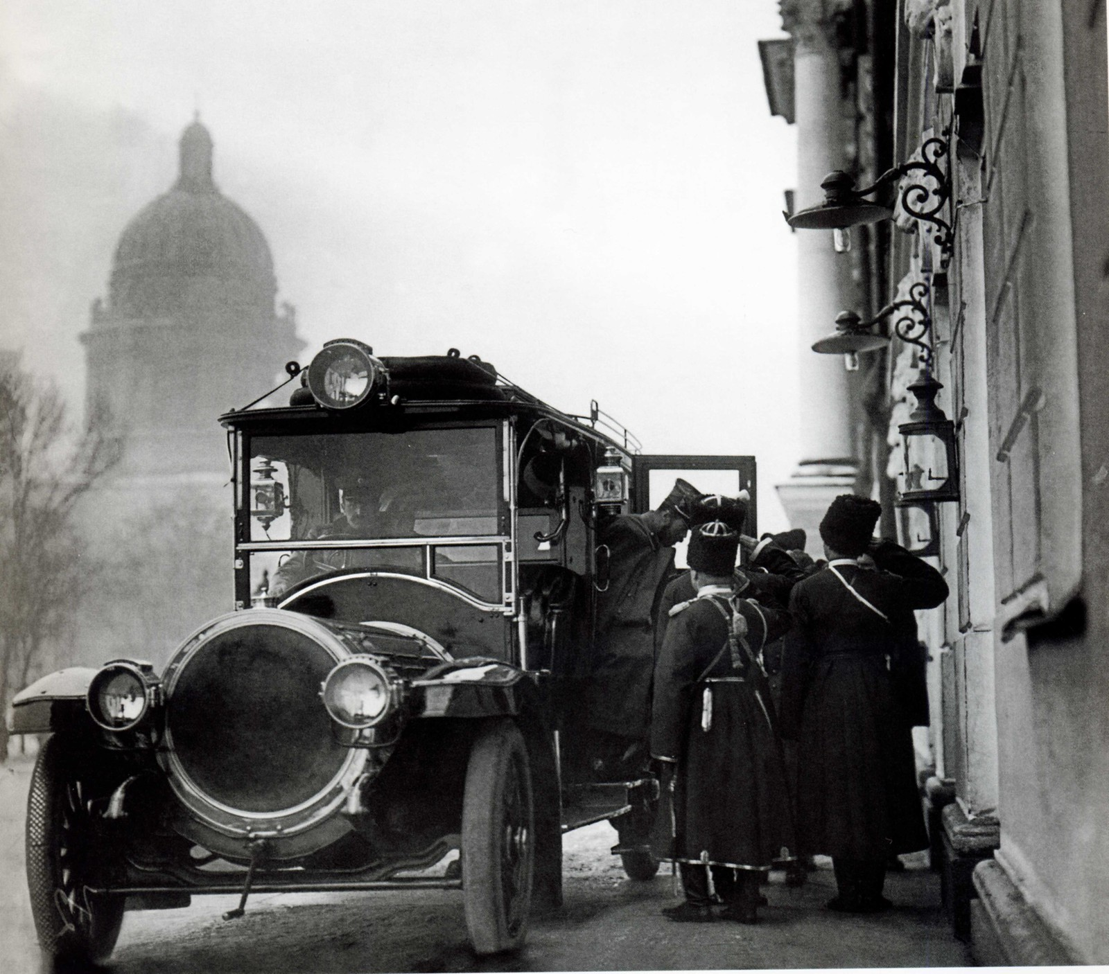 1911. Приезд императора Николая II в Правительствующий Сенат