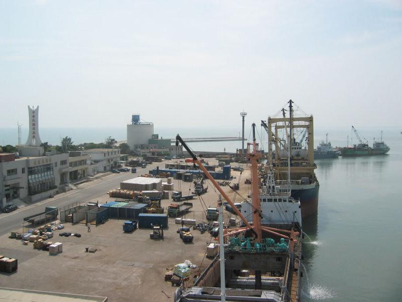 金門料羅港現況。圖片來源:金門港務處