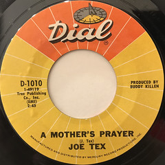 JOE TEX:I GOTCHA(LABEL SIDE-B)