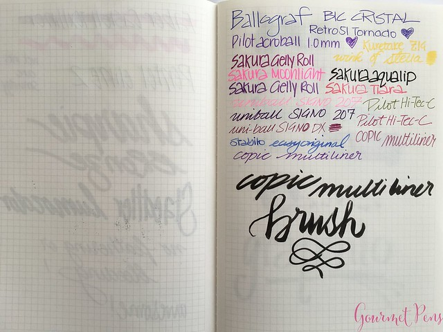 Graphilo Notebook Review & Fantastic Fountain Pen Friendly 7