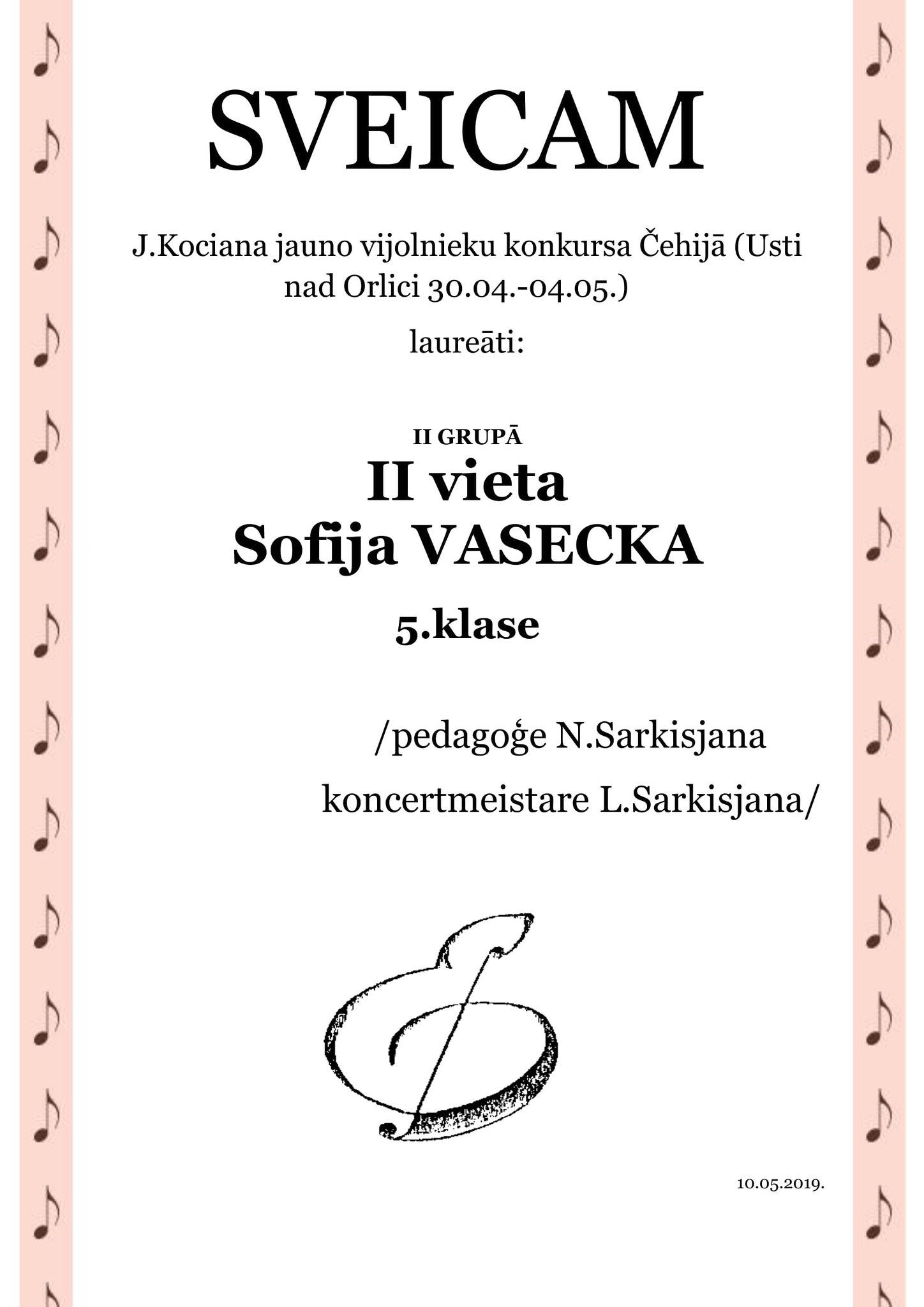 10.05.2019. Lietuva-1