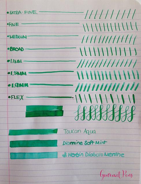 Toucan Aqua Ink Review 3