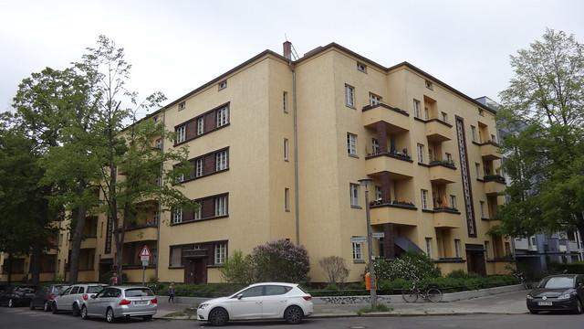 1930 Berlin Wohnanlage Zillertalstraße 1-27/Brixener Straße 45/Trienter Straße 26 in 13187 Tiroler Viertel