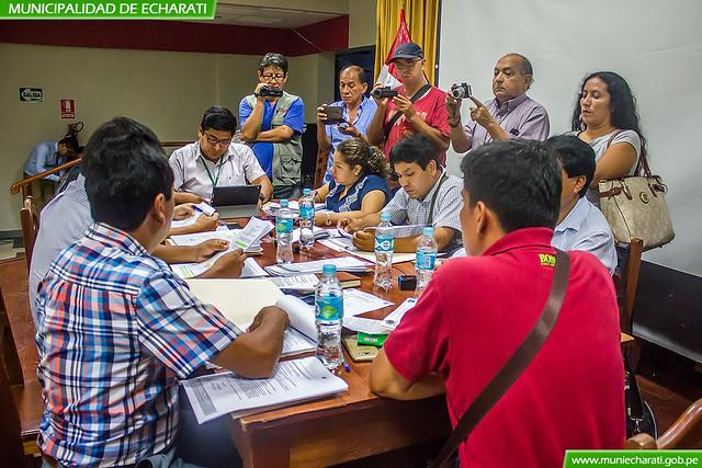 Comisión especial recomienda iniciar proceso administrativo sancionador a alcalde de Echarati
