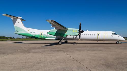 LN-WDE | DHC8-402Q | Wideroe | by Mark Remmel