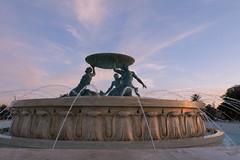 Triton Fountain, Valletta.