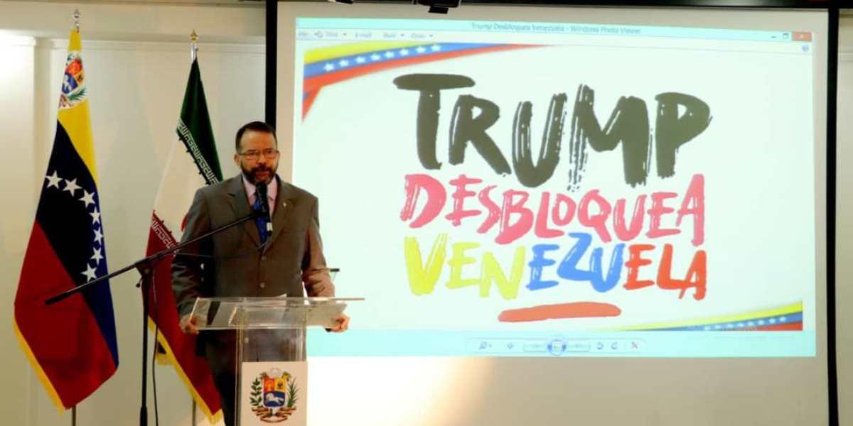 La Embajada de Venezuela en Irán realiza rueda de prensa en el marco de la Campaña contra el Bloqueo
