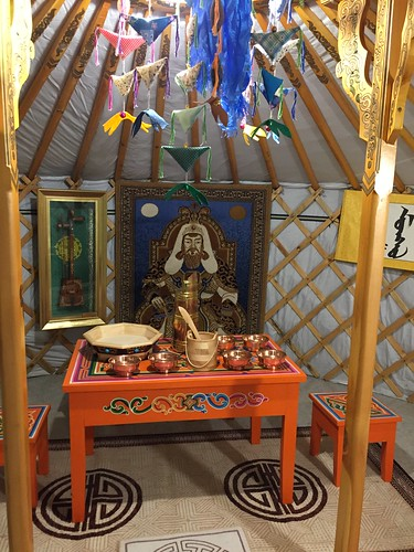 Nepalese teatime in yurt. From Travel to Asia: A new understanding–Taiwan Tea
