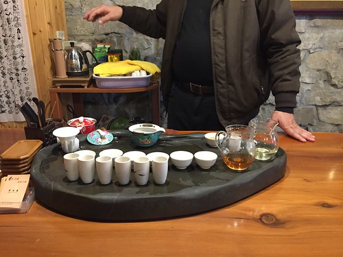 Tea service in Taiwan . From Travel to Asia: A new understanding–Taiwan Tea