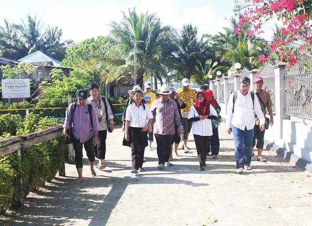 Kunker Kepala Balitbangkes di Kab. Raja Ampat dan Prov. Papua