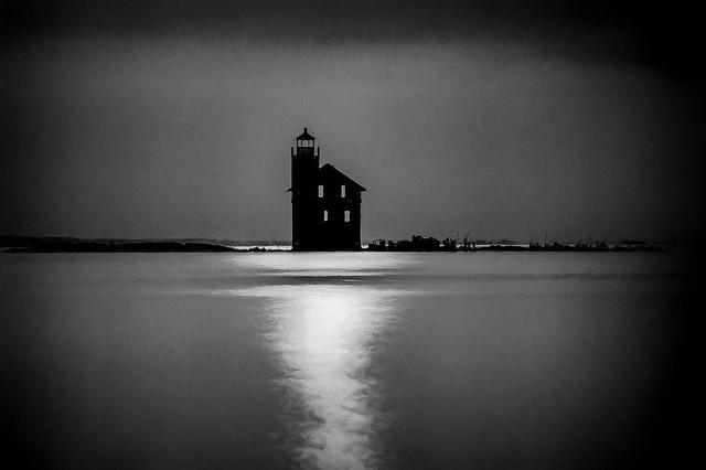 The Old Cedar Point Lighthouse
