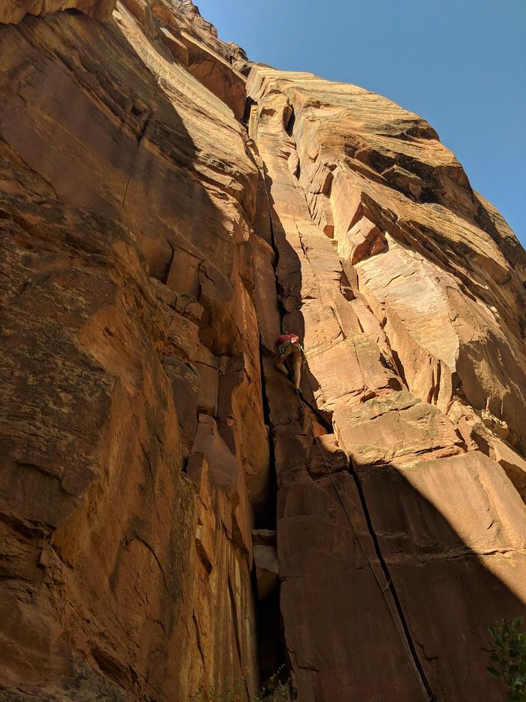 錫安國家公園是著名的攀岩勝地,吸引來自世界各國的攀登者