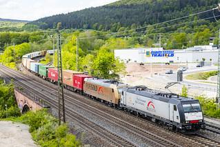 D TXL 185 408-2+TXL 185 538-6 Gemünden am Main 10-05-2019