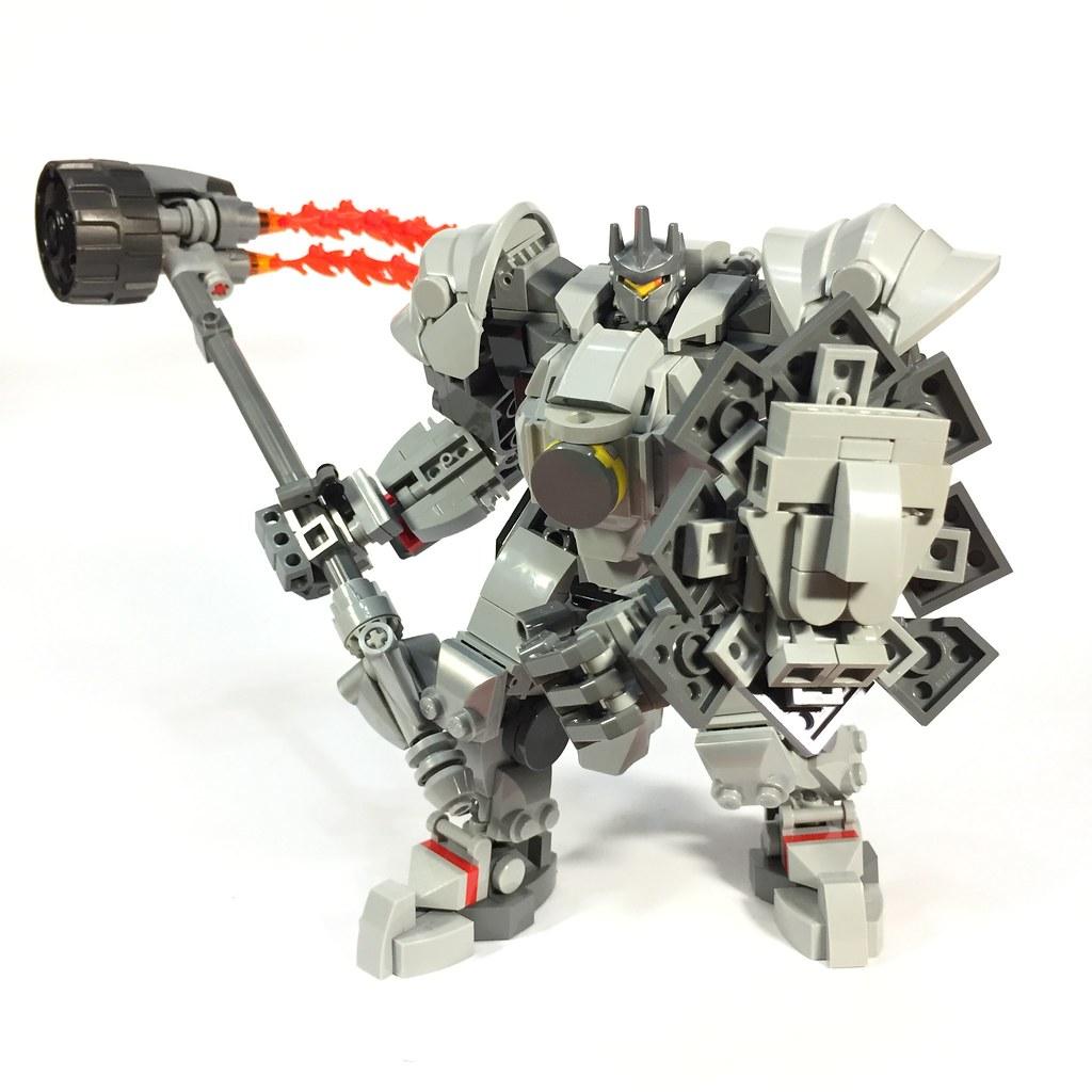 Hammer down! Overwatch Reinhardt