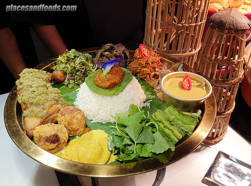 four seasons hotel kl curate nasi dulang minang