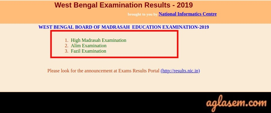 West Bengal Madrasah Result 2019