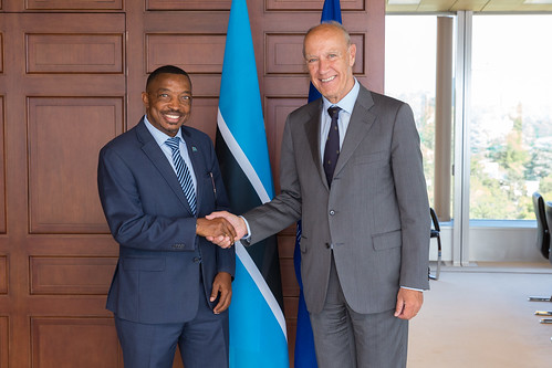 WIPO Director General Meets Botswana's Minister of Tertiary Education, Research, Science and Technology | by WIPO | OMPI
