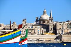View on Valletta, Malta