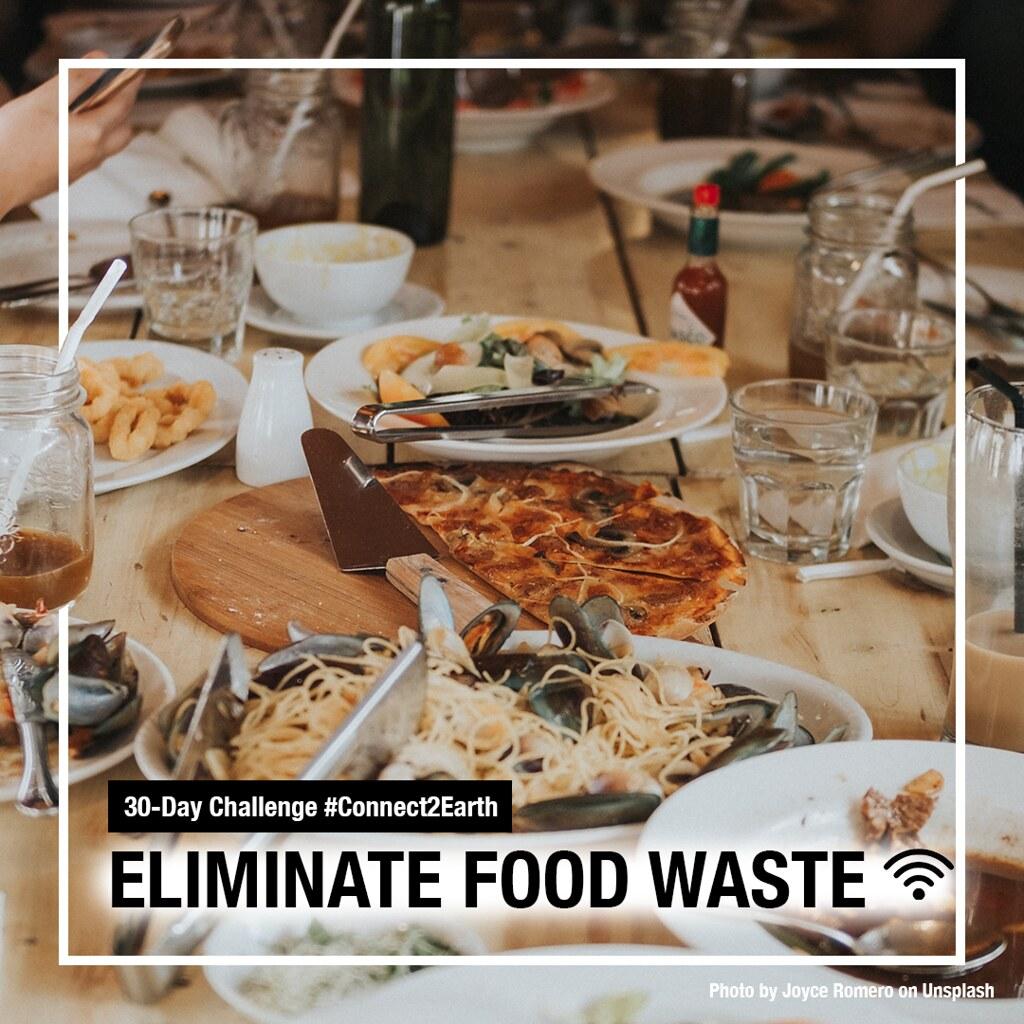 WWF與CBD發起的生物多樣性日網路活動,鼓勵民眾減少食物浪費。圖片來源:WWF
