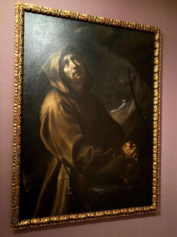 San Francisco de Asís, atribuido a José de Ribera
