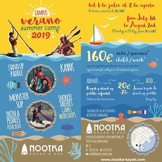 Esplai Verano 2019 Nootka Kayak & Paddle Surf