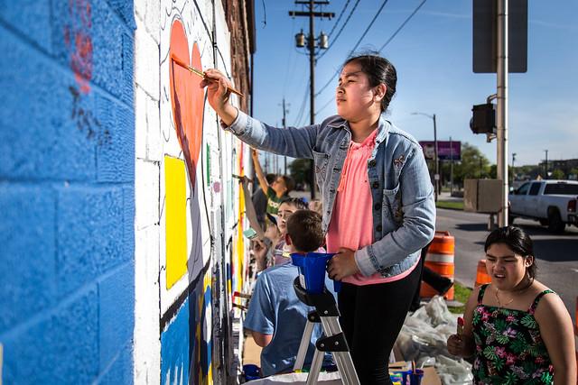 Another Willard Mural Graces Eastside Neighborhood