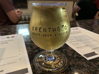 A cider at Brentwood Craft Beer and Cider | by walelia