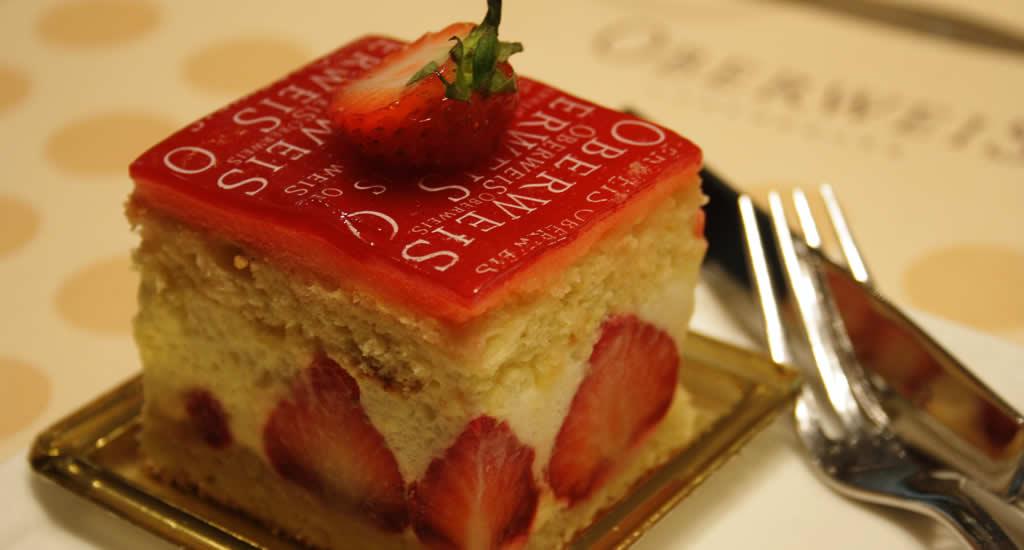 Doen in Luxemburg Stad: taartjes eten bij Oberweis | Mooistestedentrips.nl
