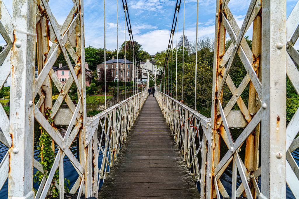 THE SHAKY BRIDGE IN CORK CITY - DALY'S BRIDGE AND NEARBY 008