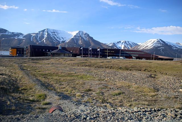 Mountains from Longyearbyen