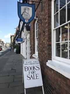 Chaucer Head bookshop, 21 Chapel Street, Stratford upon Avon