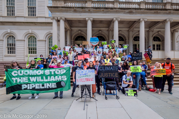 New Yorkers stop Williams pipeline in New York harbor