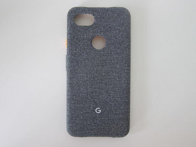 Google Pixel 3a XL Fabric Case - Back