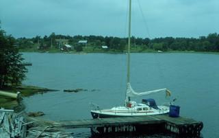 Bråttöby, Åland 28 juli 1977
