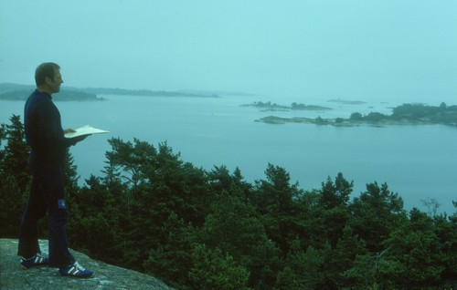 Höggrisselskär, Åland 29 juli 1977
