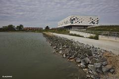 Afsluitdijk Wadden Center.