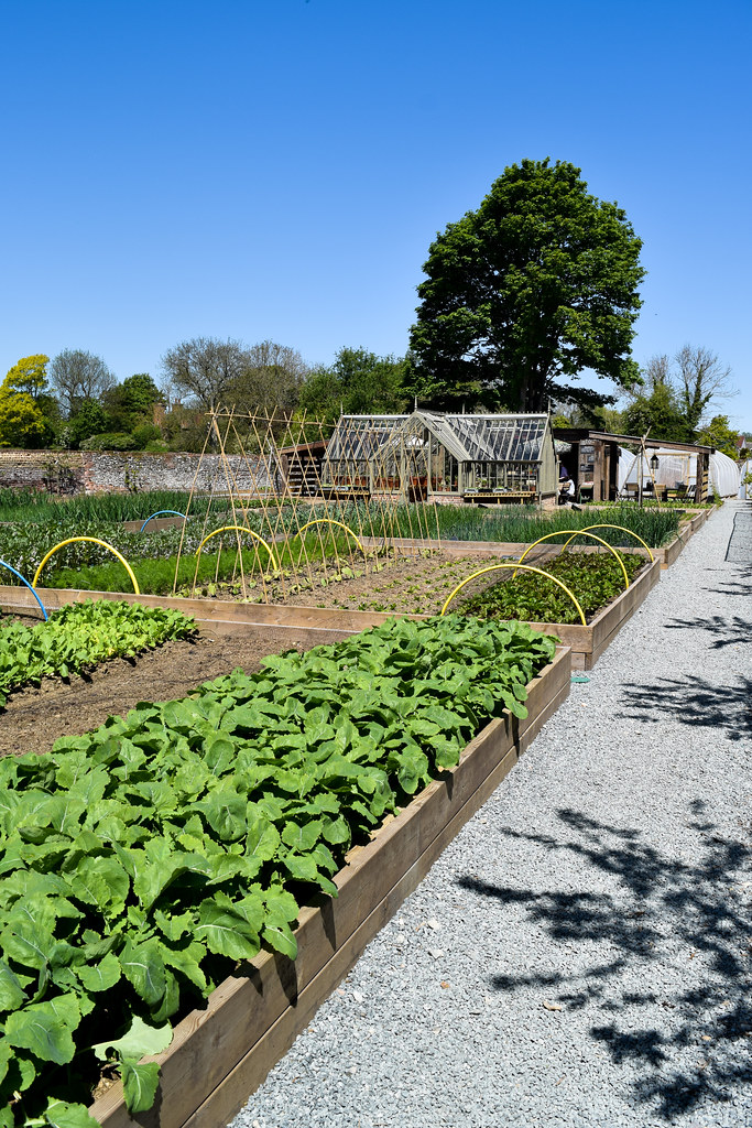 Kitchen Gardens at The Pig Hotel, Bridge