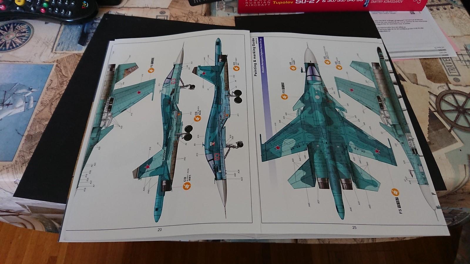 Kitty Hawk Su-34  1/48 33991195618_673fdd688d_h