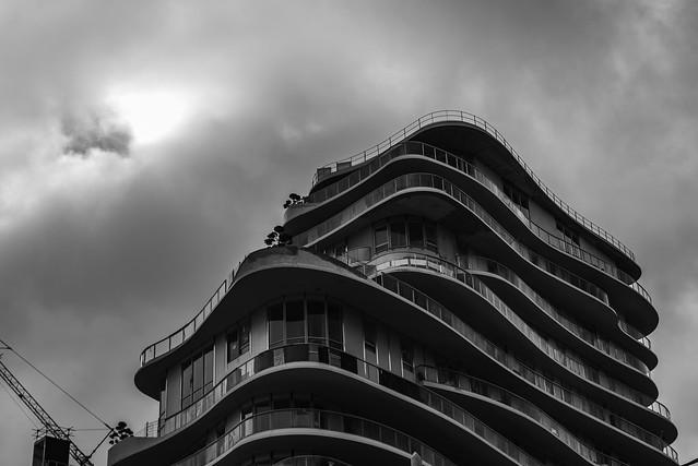 immeuble en mouvement